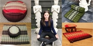 Yoga en meditatiekussens